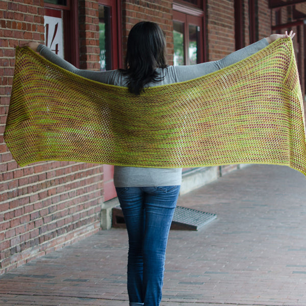cobbled wrap & scarf pattern