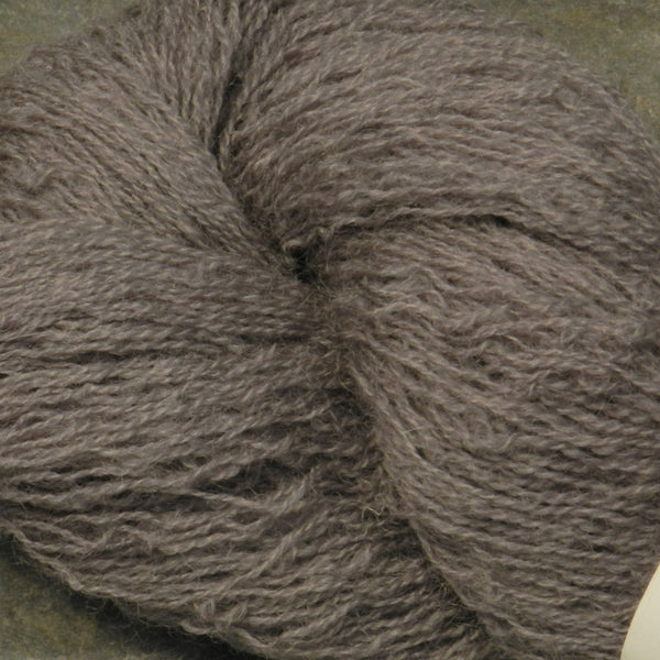 Ghost Gray Coopworth Lace Yarn