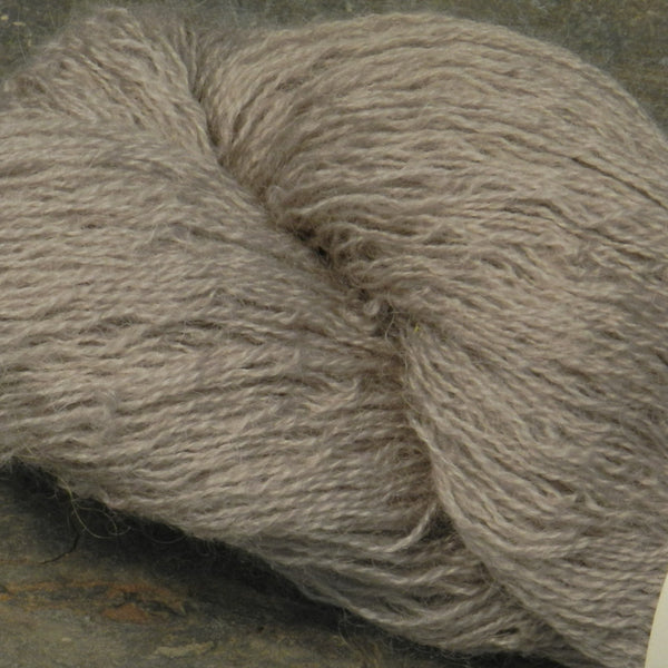 Silver Gray Coopworth Lace Yarn