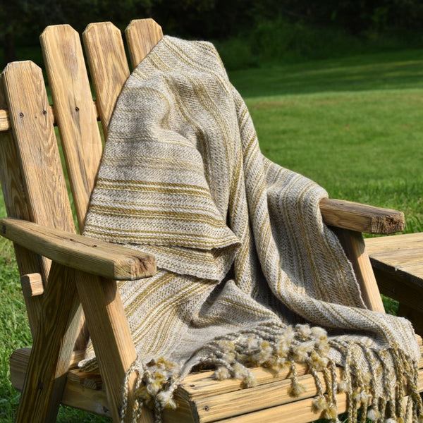 custom woven throws