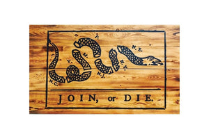 Join or Die - ProtectYOURshelves