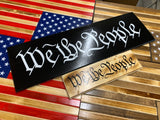 We the people wall decor