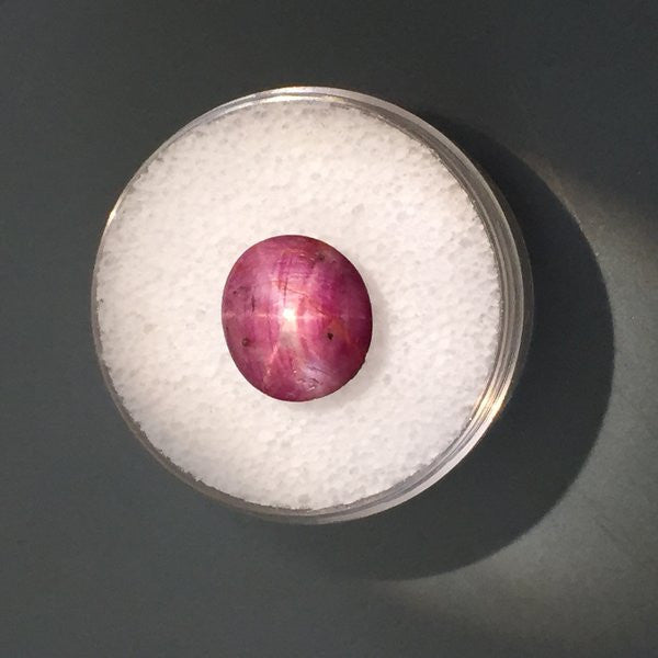 5.4 carat Indian Star Ruby - Colonial Gems