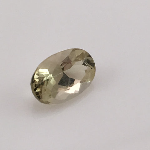 2.5 caral Oval Yellow Chrysoberyl Gemstone - Colonial Gems