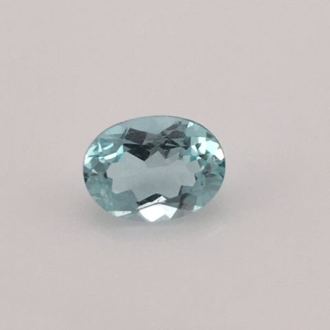 1.5 carat Mount Antero Oval Aquamarine Gemstone - Colonial Gems