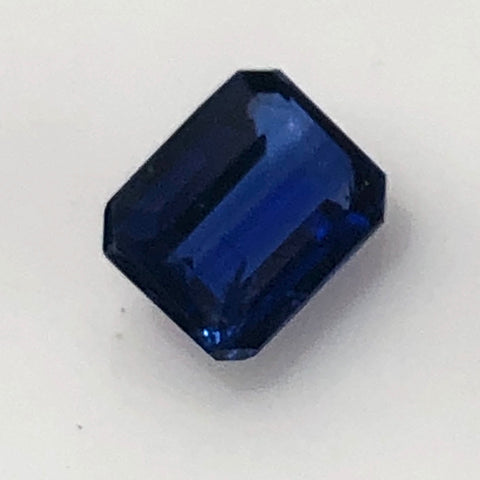 1.27 ct Dazzling Blue Emerald cut  Colorado Kyanite