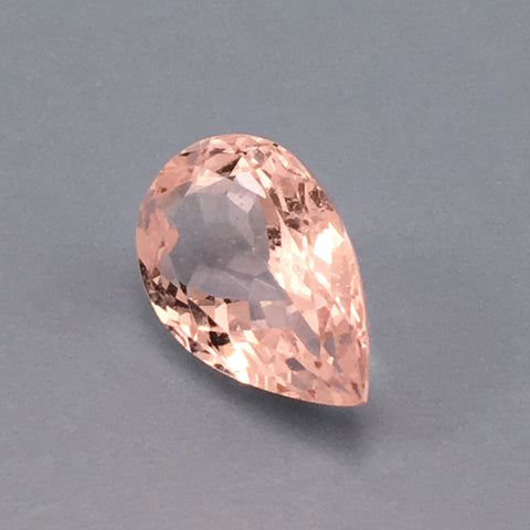 4 carat American Morganite Gemstone - Colonial Gems