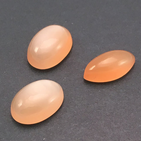 9.1 carat Set Orange Moonstone Gems - Colonial Gems