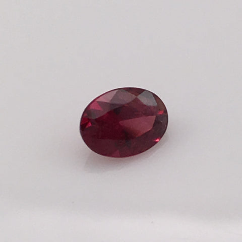 1 carat Raspberry Rhodolite Gemstone - Colonial Gems