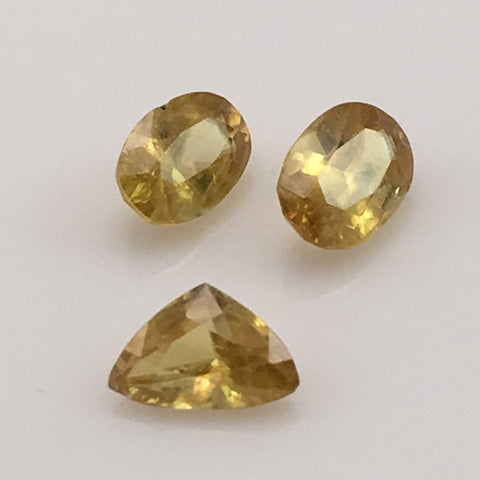 2.2 carat set of Rare Sphene Gemstones - Colonial Gems