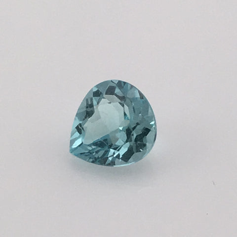 1.2 carat Mount Antero Trillion Cut Aquamarine Gemstone - Colonial Gems