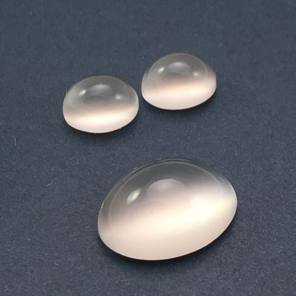 9.4 carat White Moonstone Set - Colonial Gems