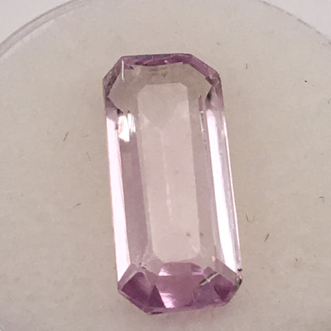 5.9 carat Spanish Kunzite Gemstone - Colonial Gems