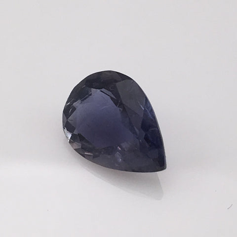 3.07 carat pear cut Burma Iolite Gemstone - Colonial Gems