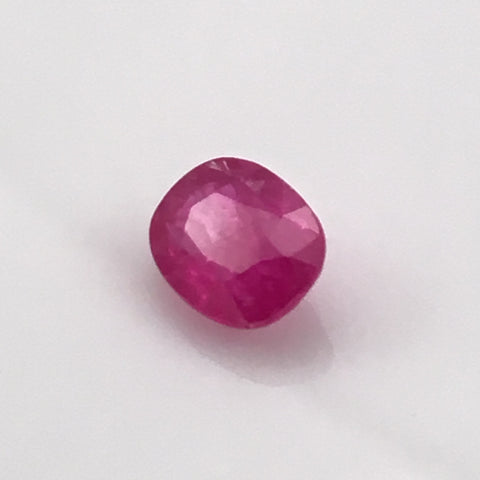 1.62 carat Thai Ruby Gemstone - Colonial Gems