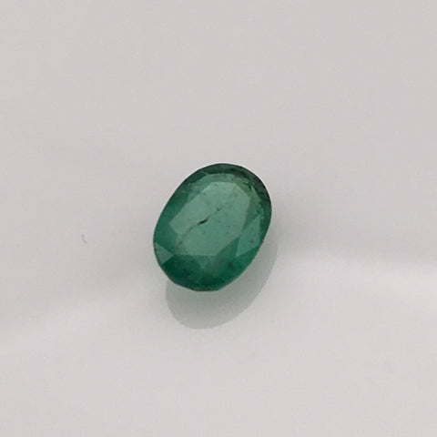 .63 Oval Emerald Gemstone - Colonial Gems