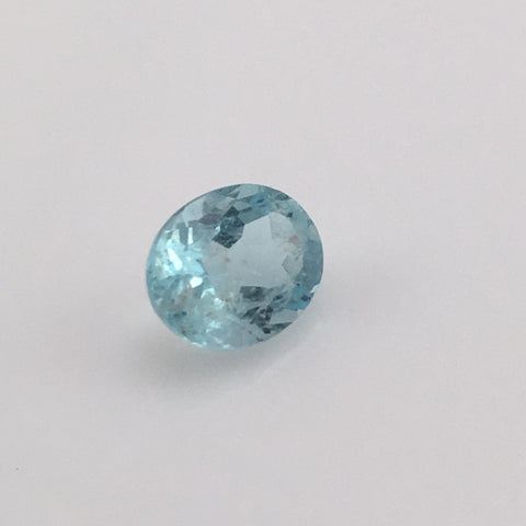 2 carat Mt Antero Aquamarine Gemstone - Colonial Gems