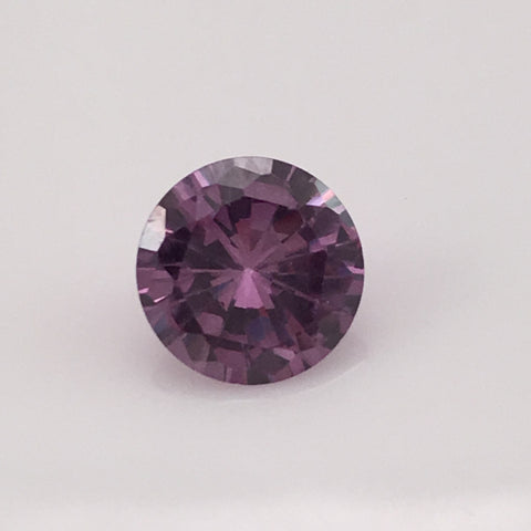 4.4 carat Purple Fire Zircon Gemstone - Colonial Gems