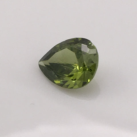 4.9 carat Green Fire Zircon Gemstone - Colonial Gems