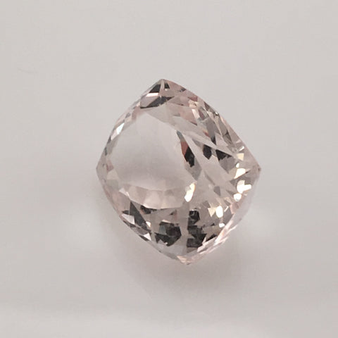 10 carat Deep Cut American Morganite Gem - Colonial Gems