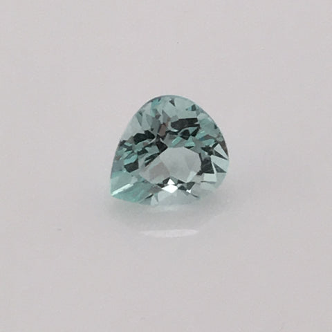 1.1 carat Aquamarine Trillion - Colonial Gems