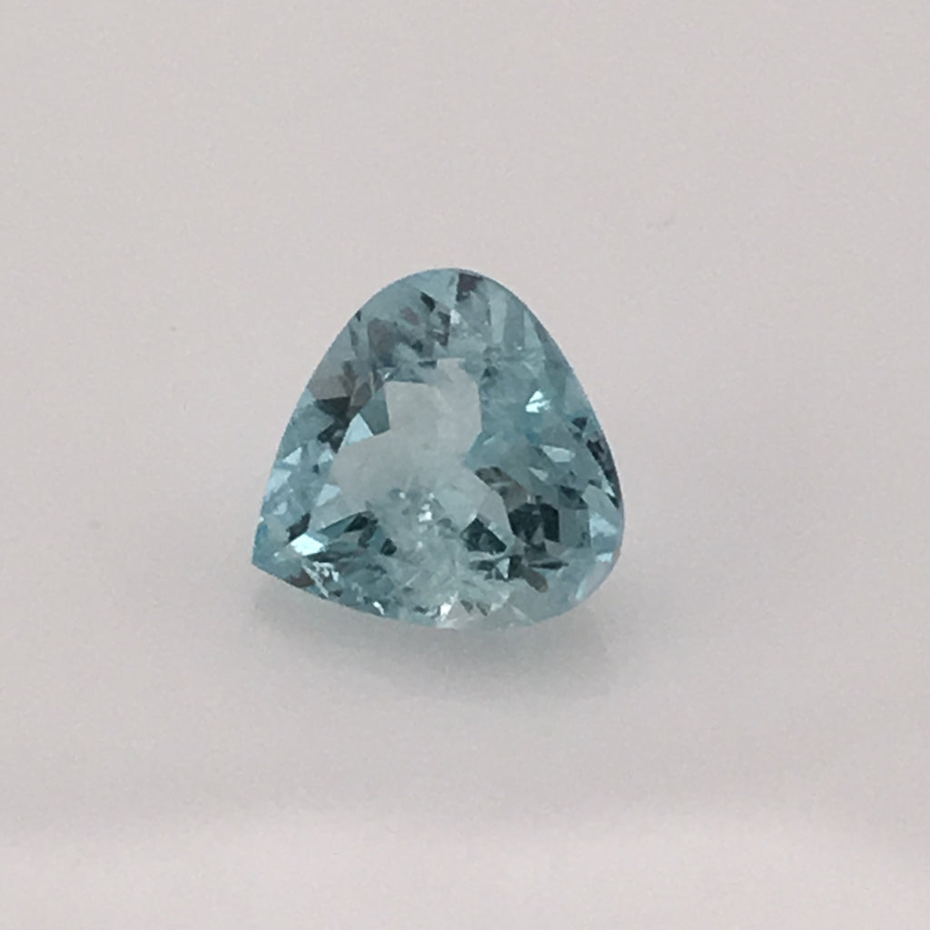 1.3 carat Mount Antero Trillion Cut Aquamarine - Colonial Gems