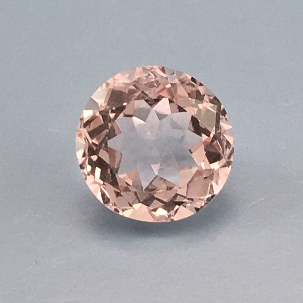 3.7 carat American Morganite Gemstone - Colonial Gems