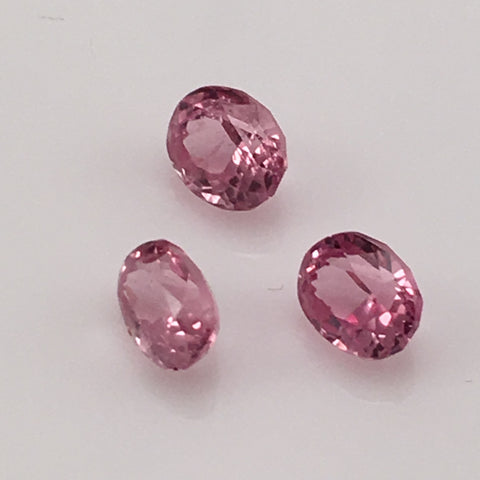 3.08 carat set of Pink Burma Spinel Gemstones - Colonial Gems