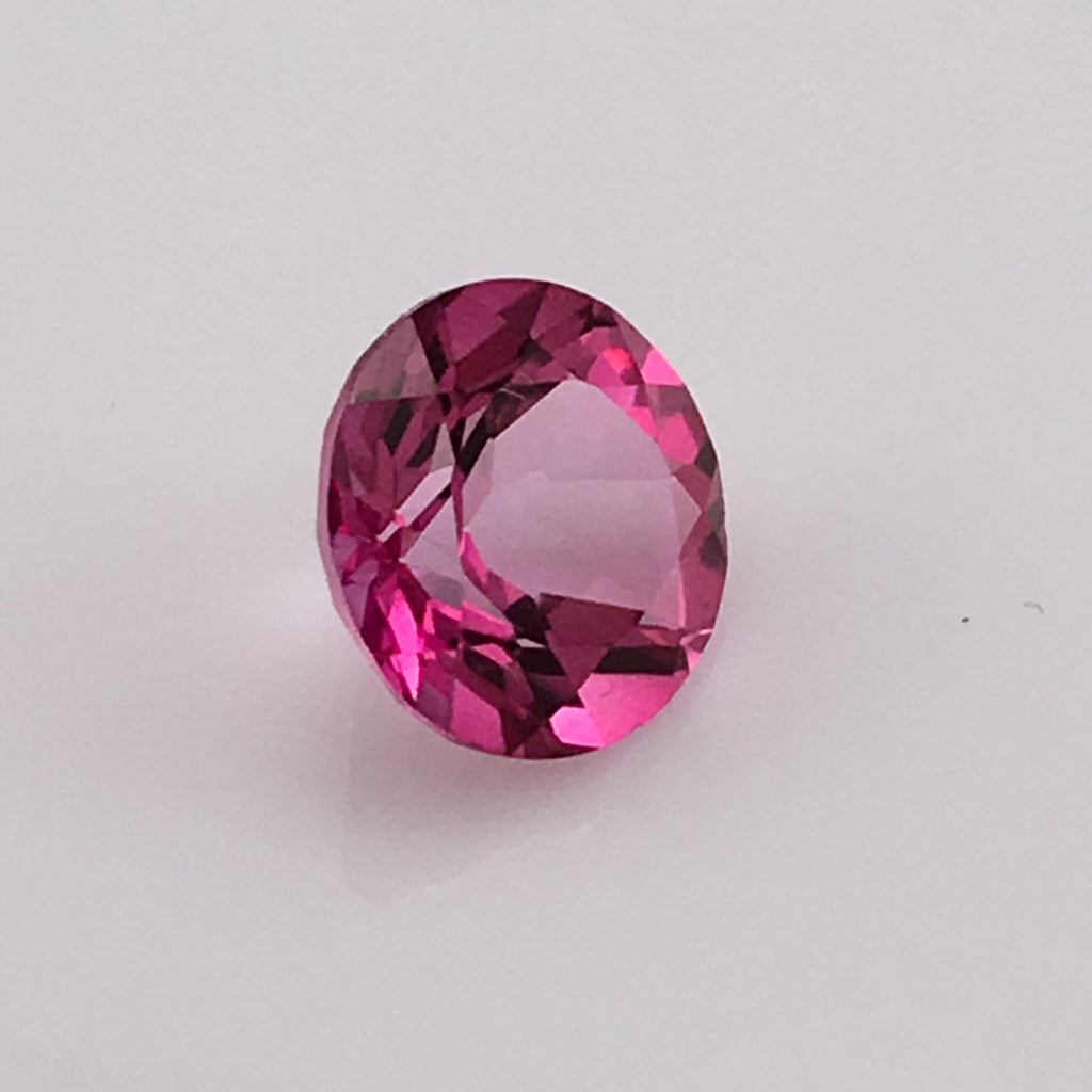 4.1 carat Hot Pink Topaz Gemstone - Colonial Gems