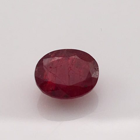 3.1 carat Red Burma Spinel Gemstone - Colonial Gems