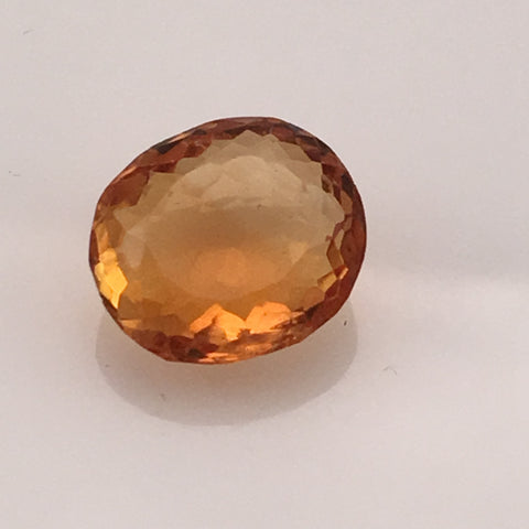 5 carat Golden Fire Citrine Gemstone - Colonial Gems