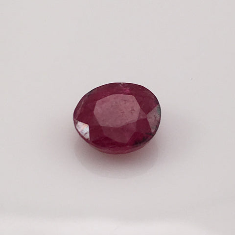 3.7 carat South Indian Ruby Gem - Colonial Gems