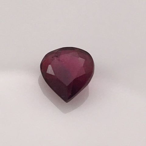 1.2 carat Heart Shaped Ruby Gemstone - Colonial Gems