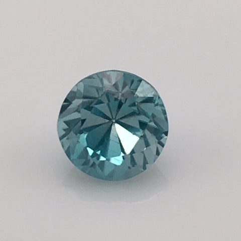 3 carat rare Blue Zircon Gemstone - Colonial Gems