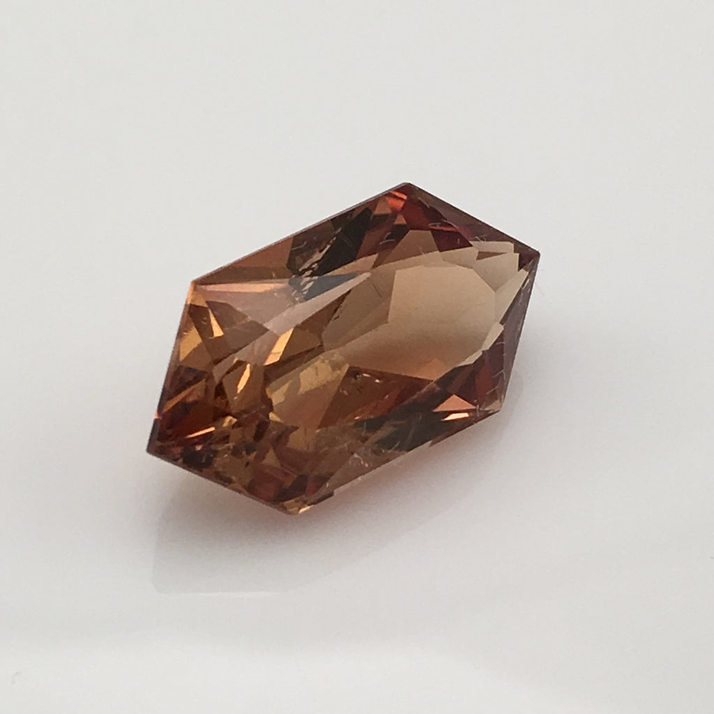 14.3 carat Zanzibar Chocolate Topaz Gemstone - Colonial Gems