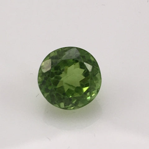 4.1 carat Brilliant Round Peridot Gemstone - Colonial Gems