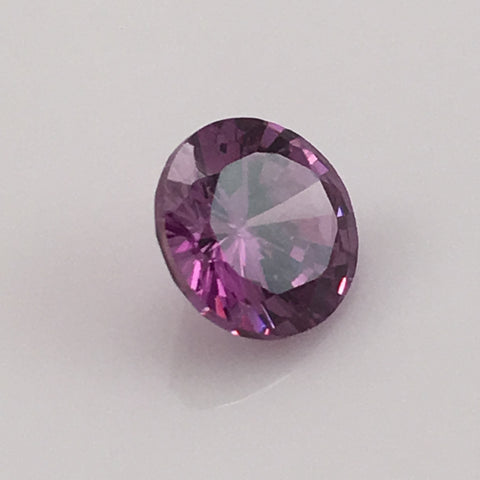 5 carat Purple Fire Zircon Gemstone - Colonial Gems