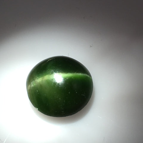 5 carat Russian Cats Eye Diopside Gemstone - Colonial Gems
