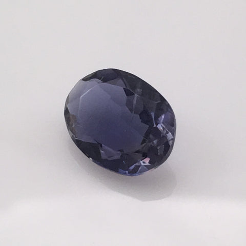 2.6 carat Oval Iolite Gemstone - Colonial Gems
