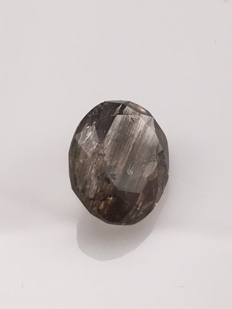 4.9 carat Smoky Grey Rutile Gemstone - Colonial Gems