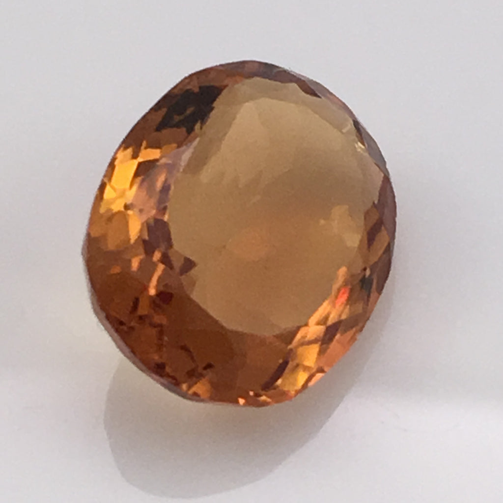 7 carat Colonial Gems Fire Citrine - Colonial Gems