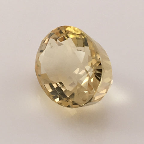 8.7 carat Golden Oval Scapolite Gemstone - Colonial Gems