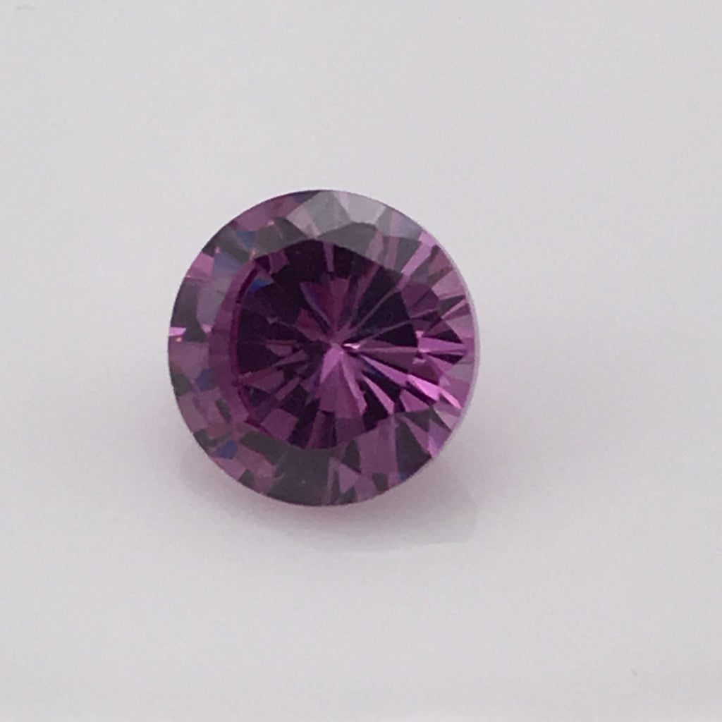 5.5 carat Purple Fire Zircon Gemstone - Colonial Gems