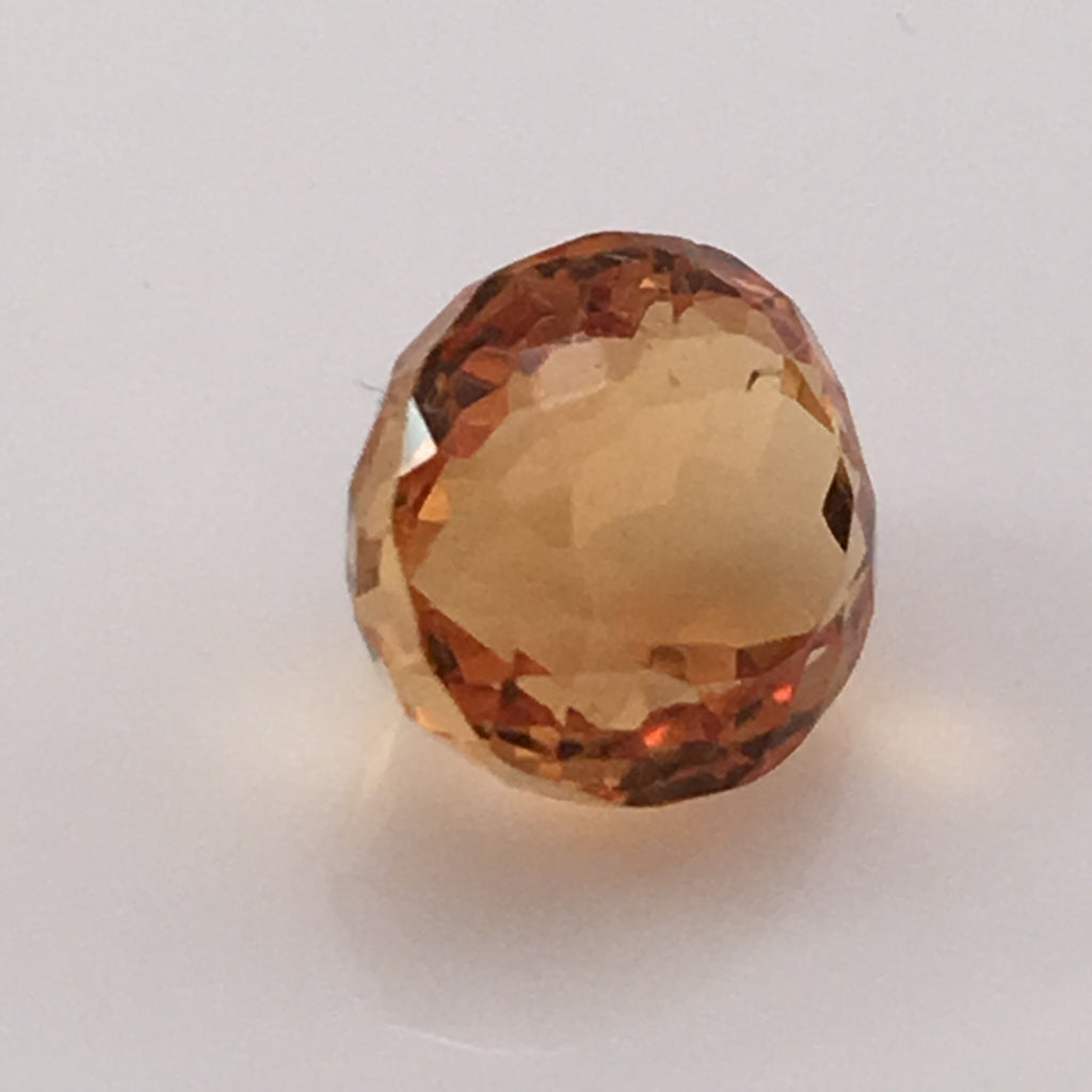 6.3 carat Fire Citrine Gemstone - Colonial Gems