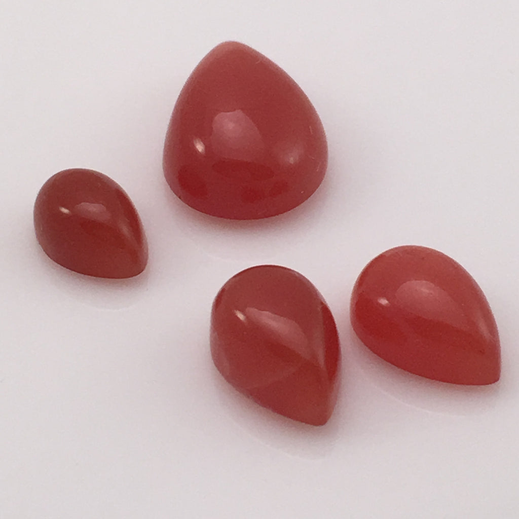 18 carat Set Red Moonstone Gems - Colonial Gems