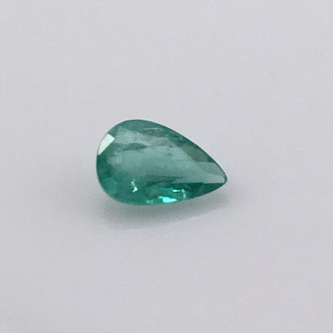 1 carat Teardrop Emerald Gemstone - Colonial Gems