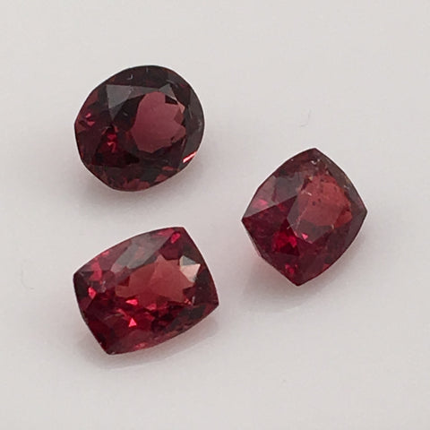 2.9 carat Cambodian Spinel Gemstone Set - Colonial Gems