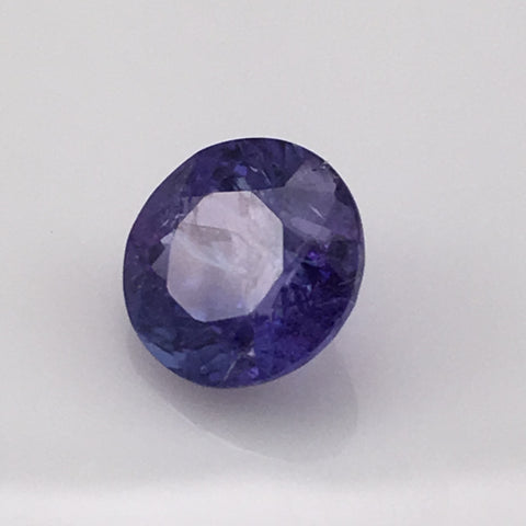 4.8 carat brilliant round Tanzanite Gemstone - Colonial Gems