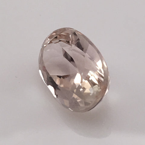 7.5 carat Pink and Yellow Kunzite Gemstone - Colonial Gems