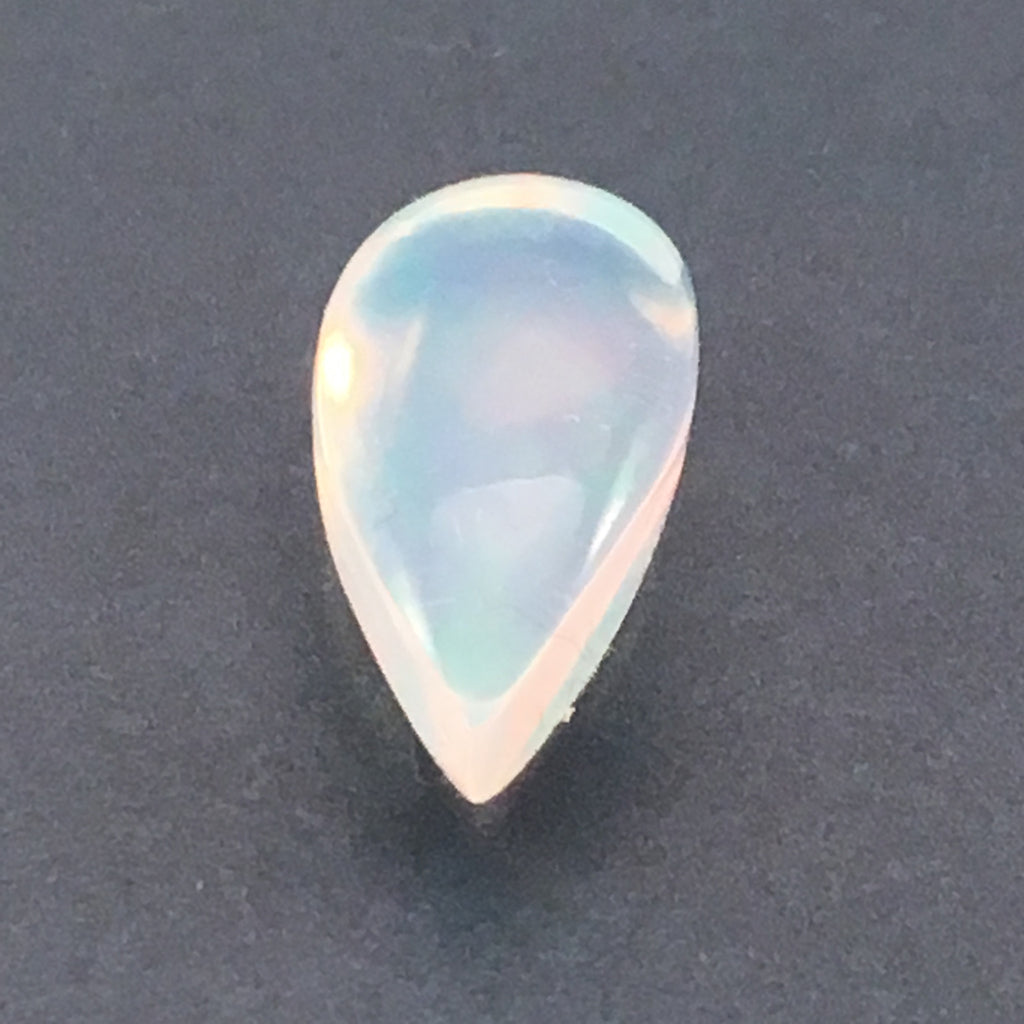 11 carat White Pearl Opal gemstone - Colonial Gems